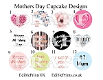 Mothers Day Cupcake Designs